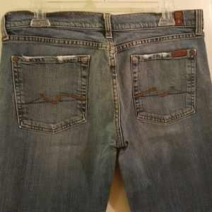 7 for All Mankind bootcut jeans size 32
